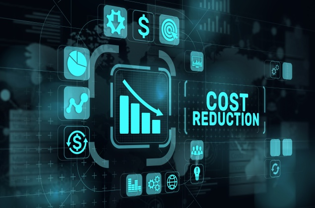 Cost reduction tech concept