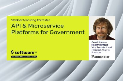 API & Microservice Platforms for Government | Software AG Government Solutions