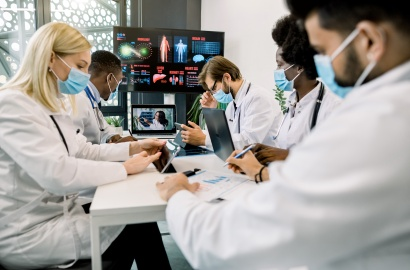 Healthcare workers and technology