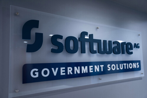 Software AG Government Solutions Logo Sign